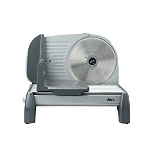 Deni Food Slicer Deluxe With Dc Motor And