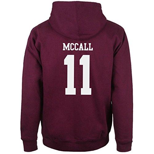 Beacon Hills STILINSKI Lahey S Lacrosse FELPA CON CAPPUCCIO McCall 11 XX-Large