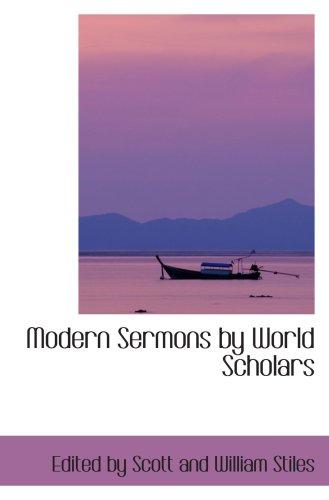 Modern Sermons by World Scholars
