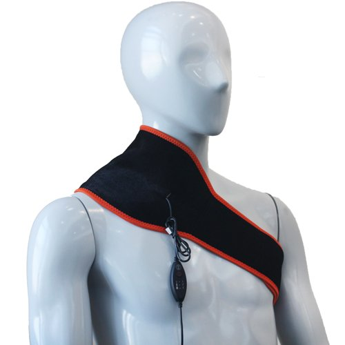 PW140L - 6 in 1 Far Infrared Neck and Shoulder Heating Pad (Hot/Warm T