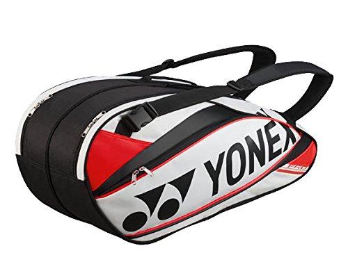 Yonex Schlägertaschen Pro Racket Thermobag 9er, Weiß, 78 x 36 x 35.5 cm, 60 Liter, 0193280136500000