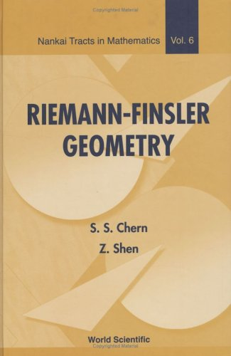 Riemann-Finsler Geometry (Nankai Tracts in Mathematics) (Nankai Tracts in Mathematics)