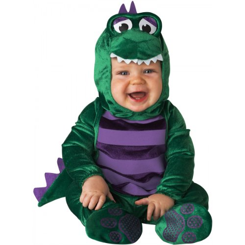Dinky Dino Costume - Infant Large front-1029620