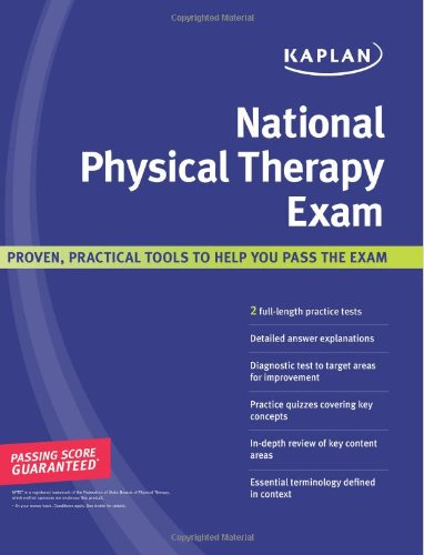 Kaplan National Physical Therapy Exam front-996012