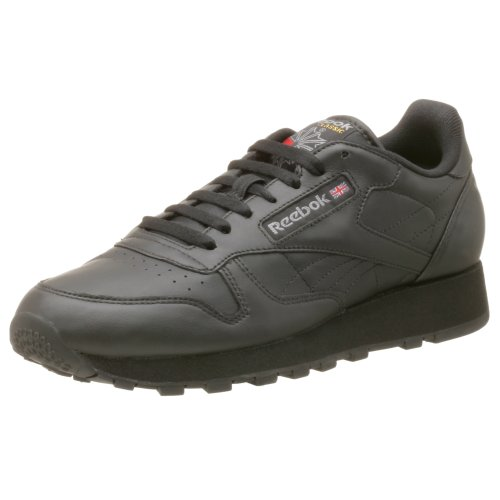 Reebok Men's Classic Leather Sneaker,Black,10 M (Reebok Leather Classic compare prices)