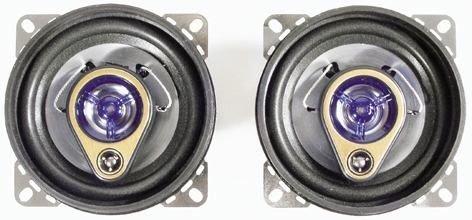 Cartechnic 31511 COAX 3-Weg 3-Wege Auto-Lautsprecher
