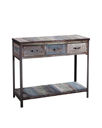 Gallerie Décor Soho Console Table, Blue