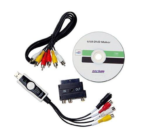 Weltbild VHS Video-Digitalisierer 5410977 USB Videobearbeitung Videos überspielen mit Software USB