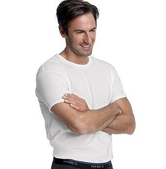 Hanes 6 Pack ComfortBlend Crew Neck T-Shirt (Small)