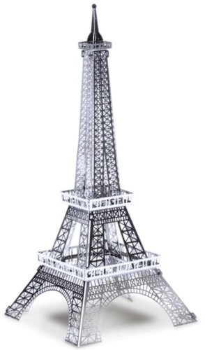 Metallic Nanopuzzle Eiffel Tower Tmn-16