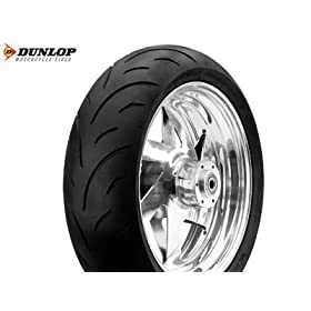 Dunlop Qualifier High Performance Motorcycle Tire Rear 180/55Zr17