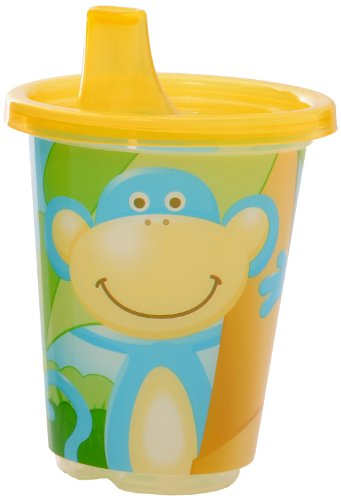 Evenflo Zoo Friends 3 Count Sippy Cup (Discontinued by Manufacturer)
