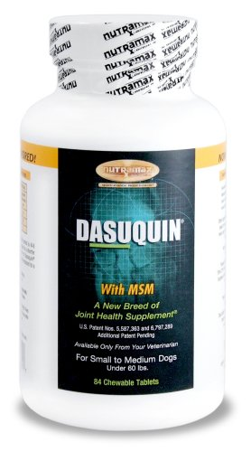 Dasuquin for small/medium dogs with MSM , 84-Count