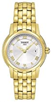 Tissot T0312103303300 Watch Ballade III Ladies - Silver Dial Stainless Steel Case Quartz Movement