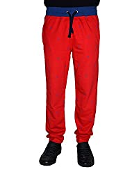 Crux and Hunter Men's Straight Track Pants [Red] [XLarge]