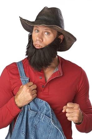 California Costumes The Hillbilly Beard, Dark Brown, One Size Costume Accessory