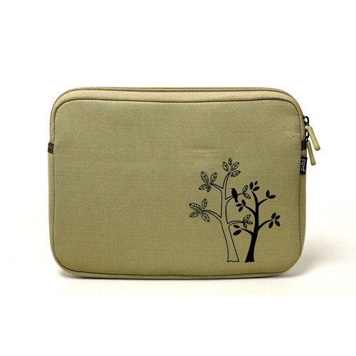 Fashion Netbook Neoprene Sleeve Case (Vintage Sketch Trees) for Samsung GO N310-13GB 10.1-Inch Netbook