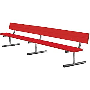 Sport Supply Group 7.5' Portable Bench With Back by Sport Supply Group