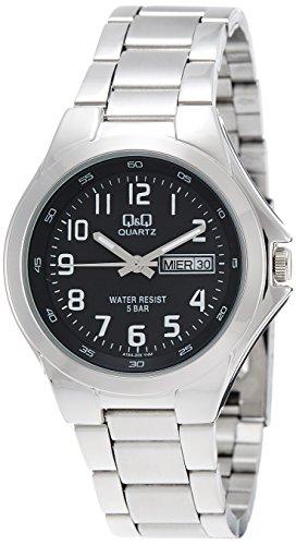 Q&Q Q&Q Regular Analog Black Dial Men's Watch - A164-205Y
