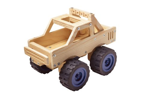 Red Tool Box Monster Truck Building Kit (Red Monster compare prices)