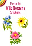 img - for Favorite Wildflowers Stickers (Dover Little Activity Books Stickers) book / textbook / text book