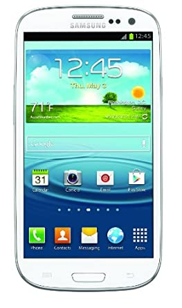 Samsung Galaxy S III 4G Android Phone, White 32GB (Verizon Wireless)