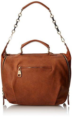 Steve Madden Bkent Top Handle Bag, Cognac, One Size