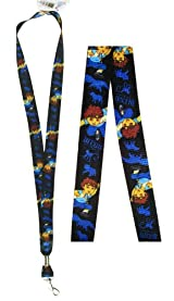 Diego The Rescuer 2pc Lanyards - Diego Lanyards - Black