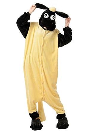 Ninimour- Animal Pyjamas Halloween Costume (S, Finn)