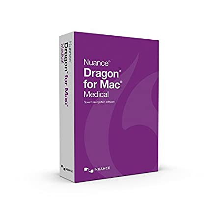 Nuance Communications Dragon for MAC Medical 5.0 Upgrade