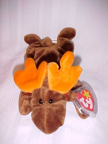 "Teenie Beanie Babies ""Chocolate the Moose"""