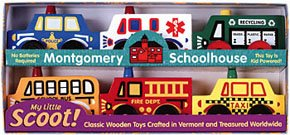 Community Scoot Set 1 - Buy Community Scoot Set 1 - Purchase Community Scoot Set 1 (Montgomery Schoolhouse, Toys & Games,Categories,Play Vehicles,Wood Vehicles)