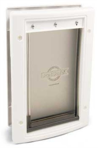 PetSafe Large Plastic Pet Door, Premium White