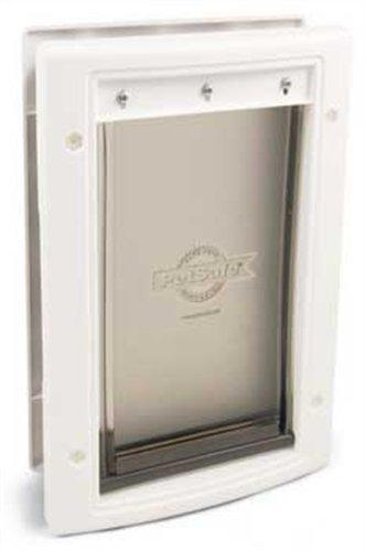 Petsafe Large Plastic Pet Door, Premium White
