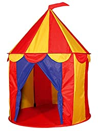 1 X Red Floor Circus Tent Indoor Chil…