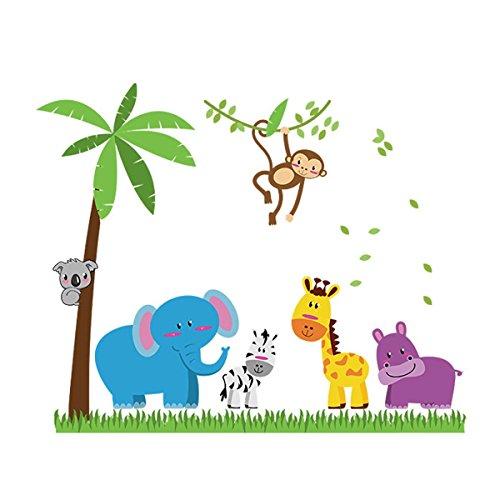 vinilo-adhesivo-infantil-pegatina-pared-para-dormitorio-sala-dibujos-animados-animales-en-la-pradera