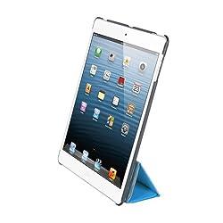 iHome Origami Vertical Smart Book Hard Back for iPad mini, Blue (IH-IM1163N)