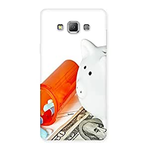 Ajay Enterprises Capsule Dollar Back Case Cover for Galaxy A7