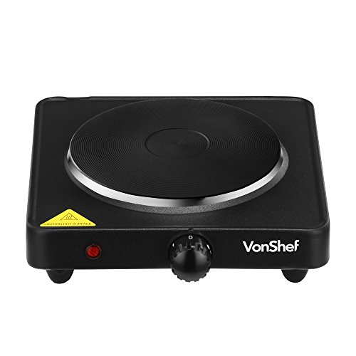 Countertop Burner Target : ... Portable Single Hot Plate Countertop Kitchen Camping Burner in Black