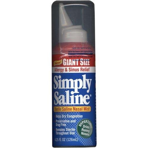 Simply Saline Adult Nasal Mist, Allergy and Sinus