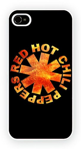 Red Hot Chili Peppers - Logo, iPhone 5 / 5S cassa del telefono mobile lucido