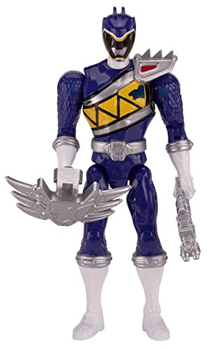 """Power Rangers Dino Charge - 6.5"""" Double Strike Blue Ranger Action Figure"""