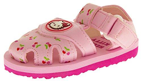 Hello Kitty Sangatta Bambina Sandali Rosa Cinturino Velcro Sandali Della Punta Chiusa EU 23
