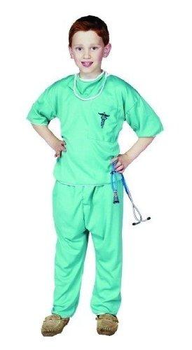 Rg Costumes E.R. Doctor Costume, Green, Medium