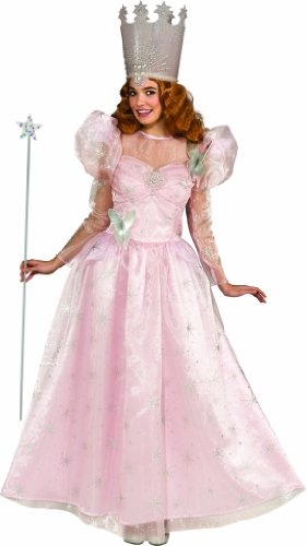 Deluxe Adult Glinda The Good Witch with Dress and Crown