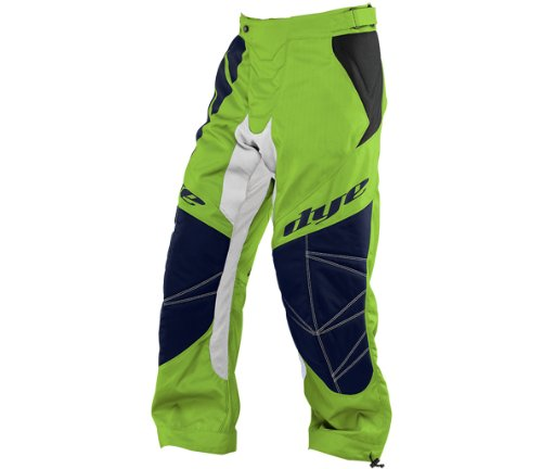 Dye C14 Paintball Pants - Ace Lime/Navy - XLarge-2XLarge (Paintball Slide Pants compare prices)