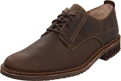 Clarks其乐男士系带皮鞋 Men's Erixon Chance Oxford棕色$99.97