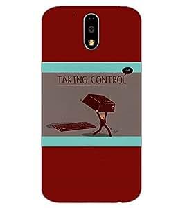 Axes Premium Designer Back Cover for Motorola Moto G4 Play (-d1020