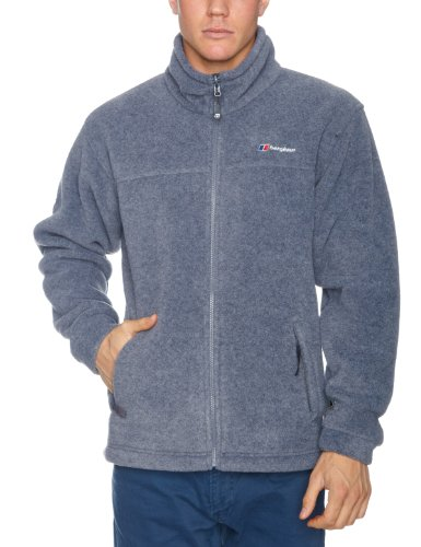 Berghaus Polarplus Interactive Men's Fleece - Grey Marl, Large