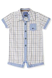 Autograph Pure Cotton Checked Shirt All-in-One